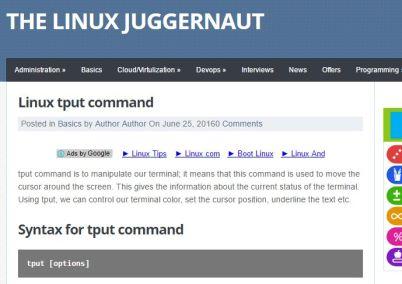 linux_tput